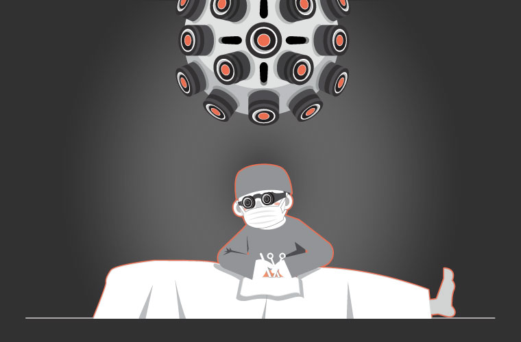 A VR Inspired Medical World
