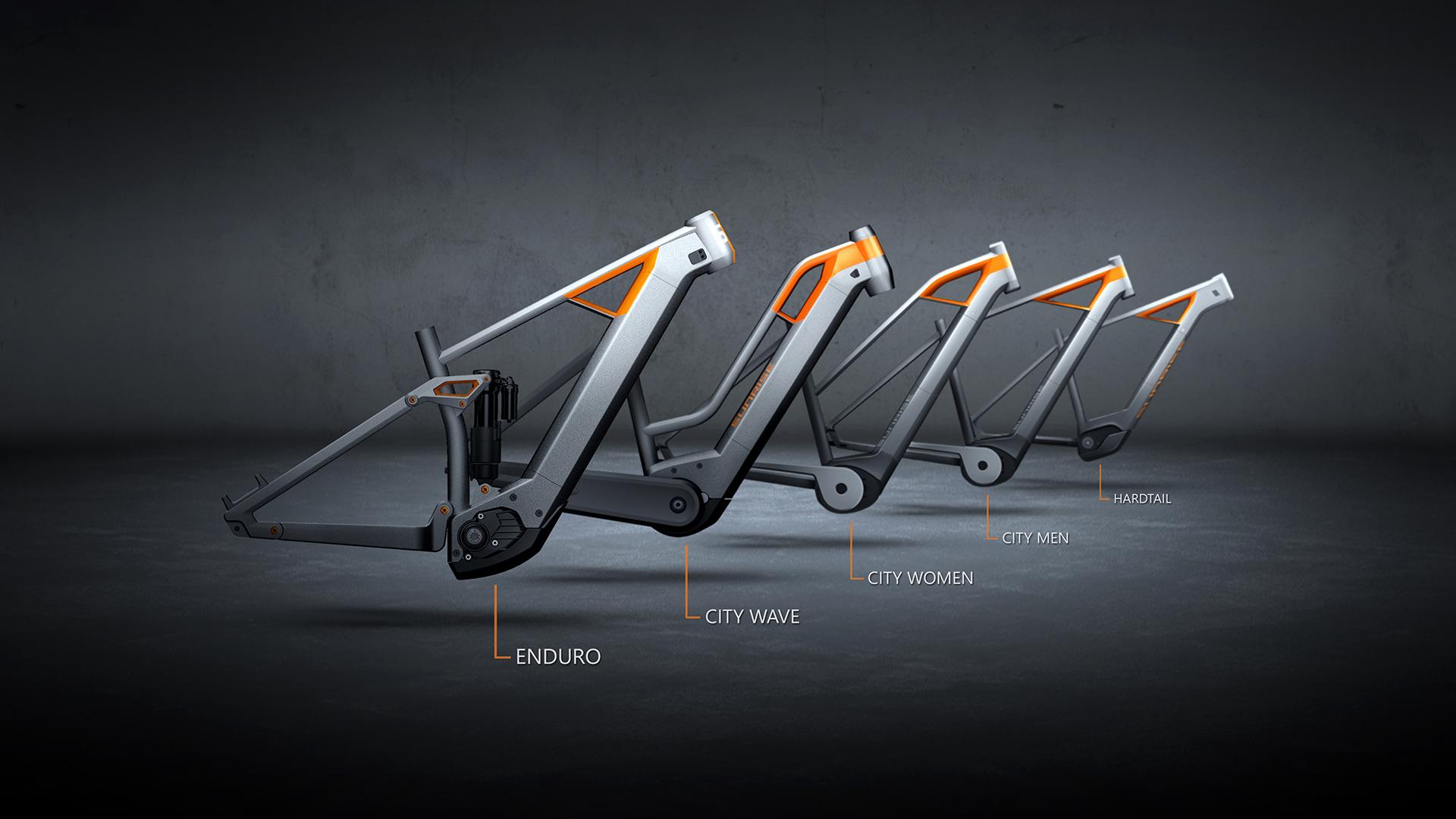 E-Bike Frame